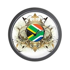 Stylish South Africa Wall Clock