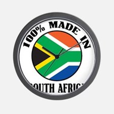 Made In South Africa Wall Clock