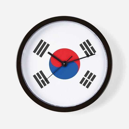 South Korea Wall Clock