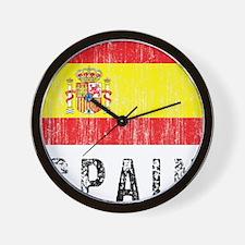 Vintage Spain Wall Clock