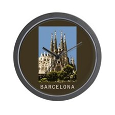 Barcelona Sagrada Familia Wall Clock