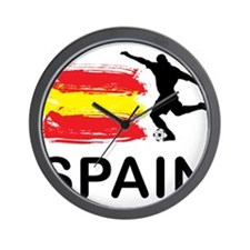 Spain Football Wall Clock