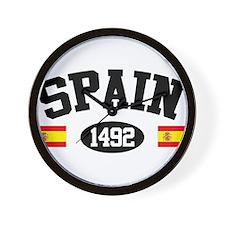 Spain 1492 Wall Clock