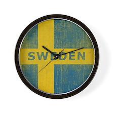 Vintage Sweden Wall Clock