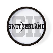 CH Switzerland Wall Clock