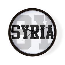 SY Syria Wall Clock