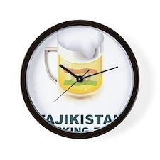 Unique Tajikistan Wall Clock
