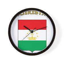Tajikistan Wall Clock