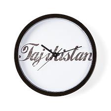 Vintage Tajikistan Wall Clock