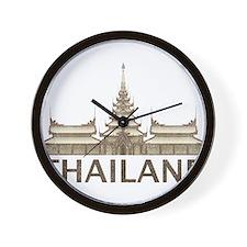 Vintage Thailand Temple Wall Clock