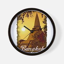 Vintage Bangkok Wall Clock