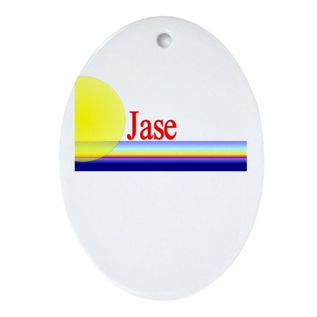 Jase Oval Ornament