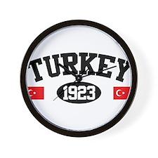 Turkey 1923 Wall Clock