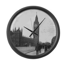 Vintage London Large Wall Clock