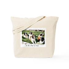 Saint Bernard Tote Bag