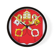 Vatican Coat Of Arms Wall Clock