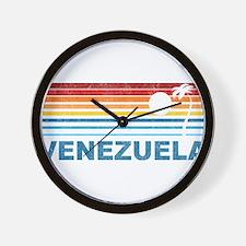 Cute Venezuela Wall Clock