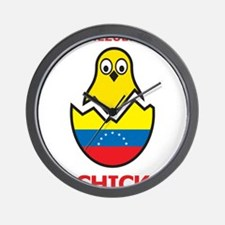 Venezuelan Chick Wall Clock
