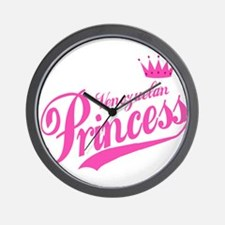 Princess Venezuelan Wall Clock