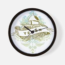 Mosque Yemen Wall Clock