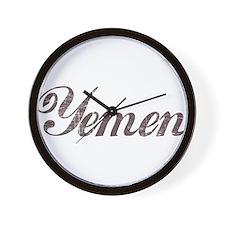 Vintage Yemen Wall Clock