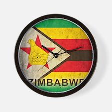 Vintage Zimbabwe Wall Clock
