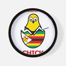 Zimbabwean Chick Wall Clock