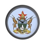 Zimbabwe Coat Of Arms Wall Clock