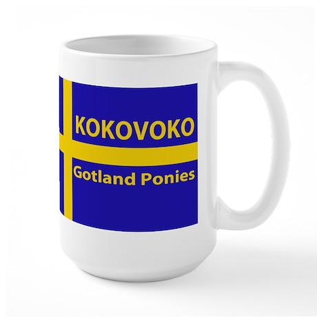 Kokovoko flag Large Mug