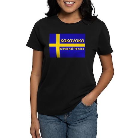 Kokovoko flag Women's Dark T-Shirt
