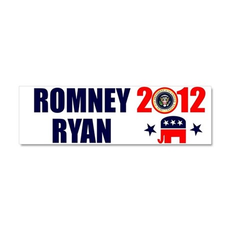 ROMNEY RYAN 2012 BUMPER STICKER Car Magnet 10 x 3