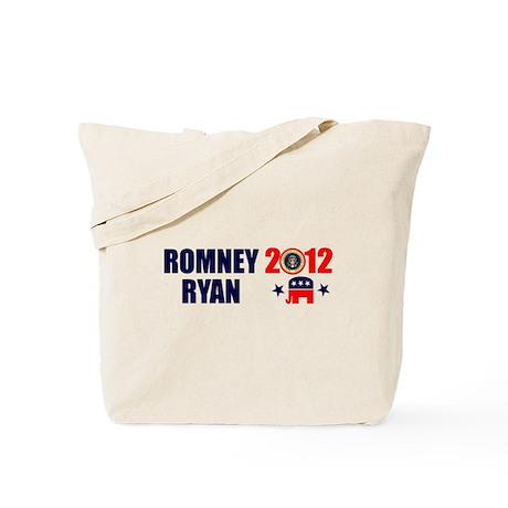 ROMNEY RYAN 2012 BUMPER STICKER Tote Bag