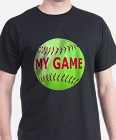 Softball My Game T-Shirt
