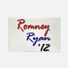 Romney Ryan 2012 Rectangle Magnet