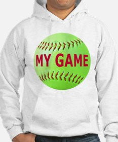 Softball My Game Hoodie