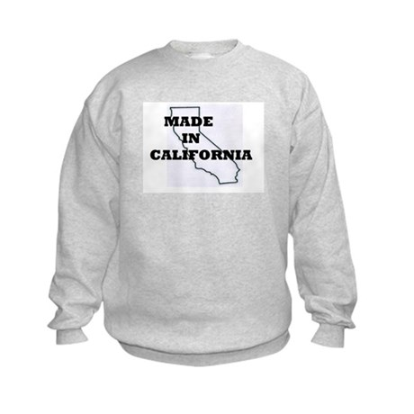 MADE IN CALIFORNIA Kids Sweatshirt