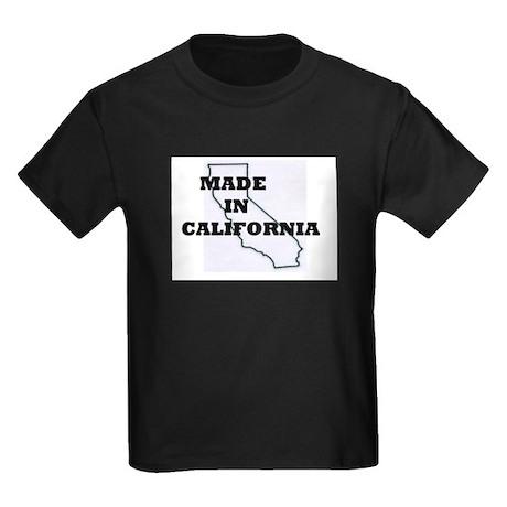 MADE IN CALIFORNIA Kids Dark T-Shirt