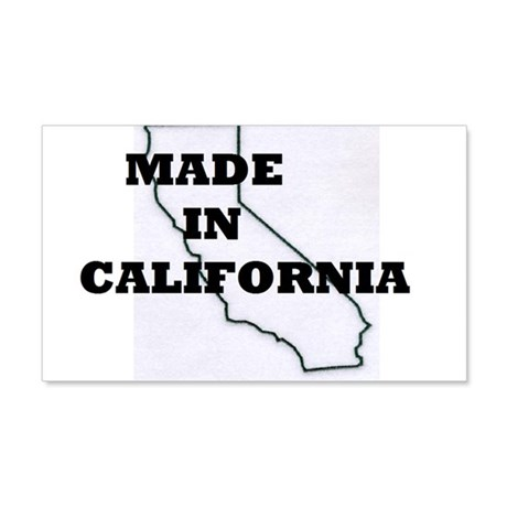 MADE IN CALIFORNIA 20x12 Wall Decal