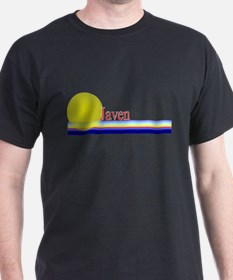 Javen Black T-Shirt