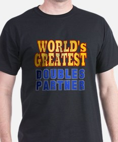 World's Greatest Doubles Partner T-Shirt