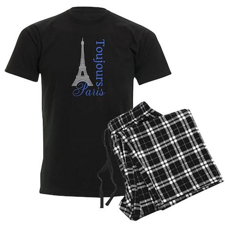 Paris Toujours Men's Dark Pajamas
