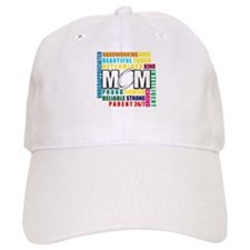 What is a Rugby Mom copy.png Baseball Cap
