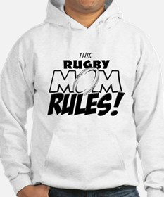 This Rugby Mom Rules copy.png Hoodie