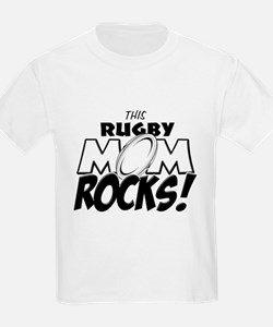 This Rugby Mom Rocks copy.png T-Shirt