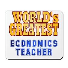 World's Greatest Economics Teacher Mousepad