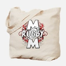 Rugby Mom (cross).png Tote Bag