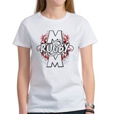 Rugby Mom (cross).png Tee