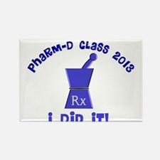 pharmD class of 2013 I did it.PNG Rectangle Magnet
