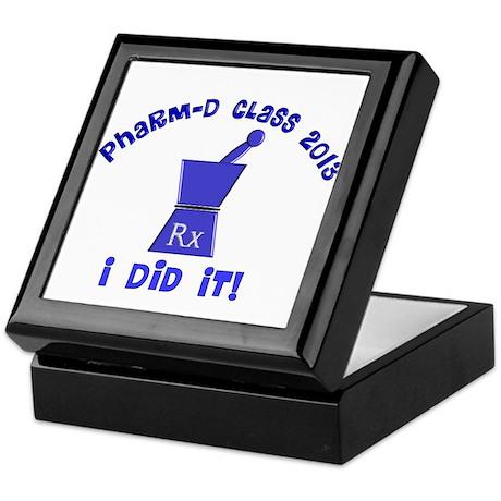 pharmD class of 2013 I did it.PNG Keepsake Box