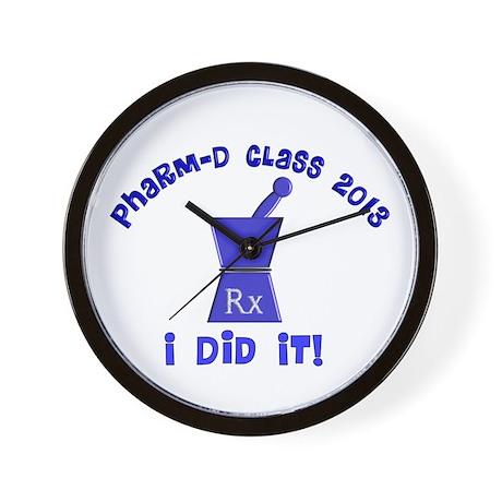 pharmD class of 2013 I did it.PNG Wall Clock